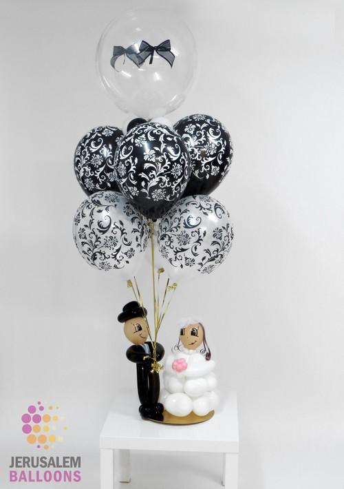 Deluxe Table-top Bride & Groom