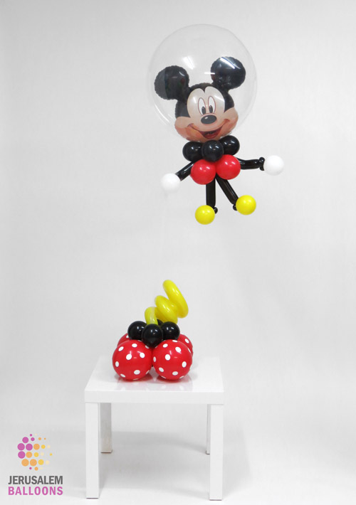 Floating Mickey Mouse