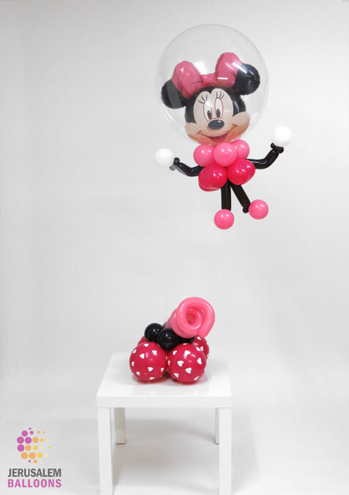 Floating Minnie Mouse