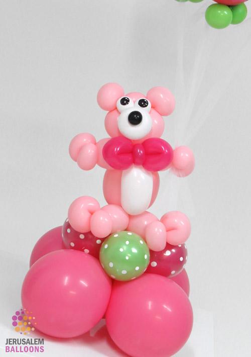 Polka Dot Bear Baby Girl