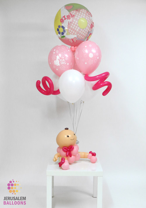 Deluxe Balloon Baby - Girl