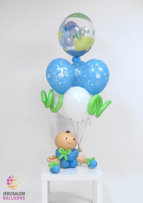 Deluxe Balloon Baby - Boy