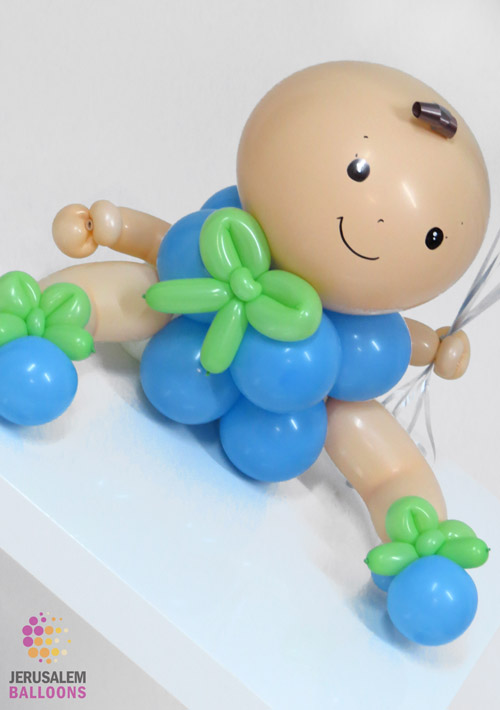 Deluxe Balloon Baby - Boy