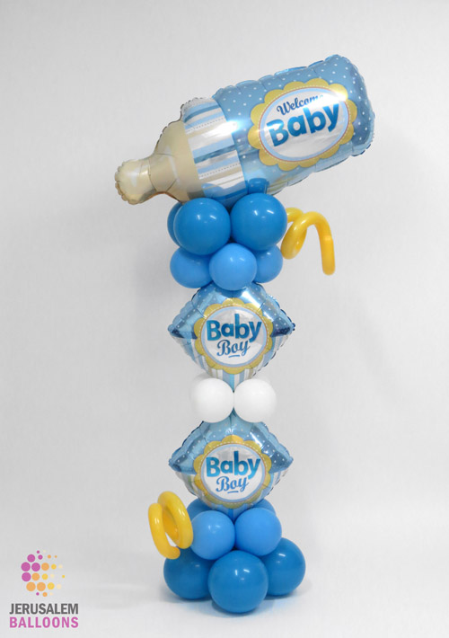 Welcome Baby Bottle - Boy