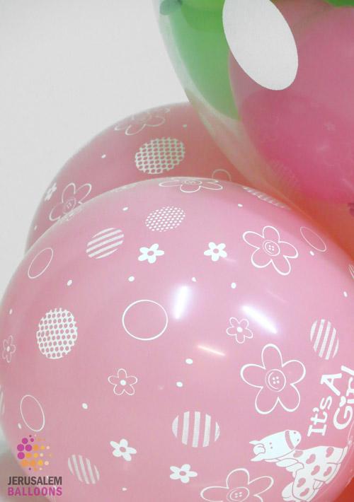 Bear in a Balloon - Girl