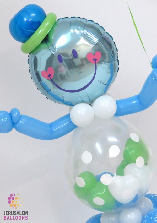 Baby Bubble Man