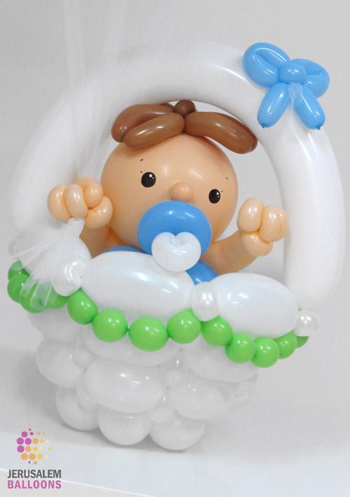 Luxury Baby Basket - Boy